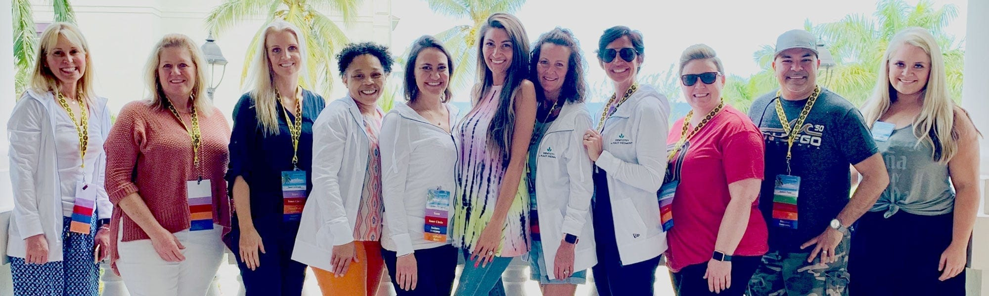 Dentistry staff at Jamaica offsite